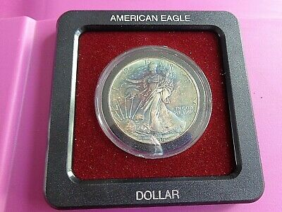 1986 American Silver Eagle - encased