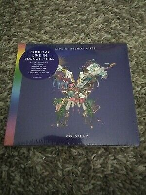 NEW - Coldplay 2 CD's (24 Track) Live In Buenos Aires Warner Music 190295553999