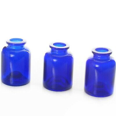3400 Glass Cobalt blue Small Jars
