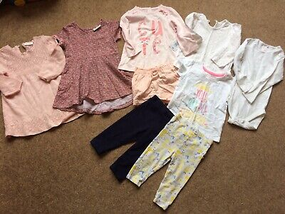Beautiful Bundle Of Baby Girl Spring/Summer Clothes 9-12 Months