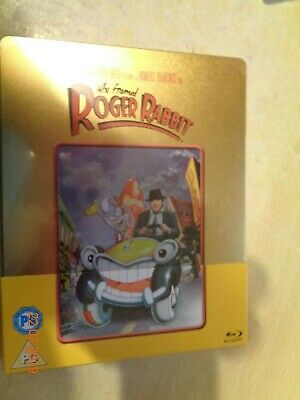 Who Framed Roger Rabbit - Gold -  Blu Ray Steelbook New & Sealed