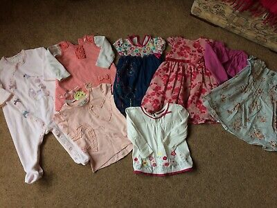 Lovely Bundle Of Baby Girl Clothes 6-9 Months