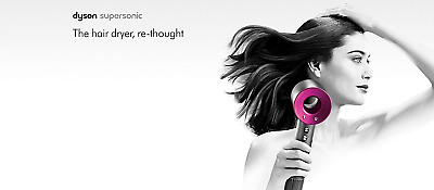 FACTORY SEALED new DYSON SUPERSONIC HAIR DRYER.  Different colours READ LISTING