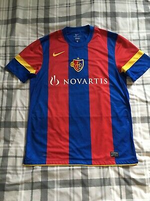 FC Basel 1893 Men's Nike Dri Fit Football Jersey **PERFECT CONDITION**