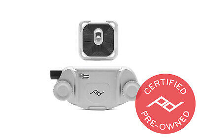 Peak Design Silver Capture V3 with Plate (Lifetime Warranty) - PD Certified