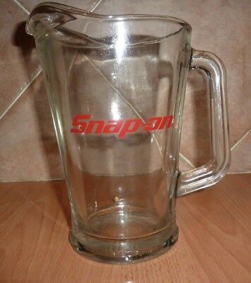 Vintage Rare  Snap On Beer Jug / Pitcher In Excellent Condition