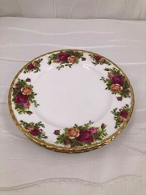 "Vintage Royal Albert Bone China ""Old Country Roses"" Salad plate England"