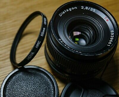 ZEISS Distagon T* F 2.8 35mm Lens Contax/Yashica MM mount