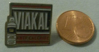 Pin Pin's Badge Viakal Pub Anti Calcaire Bouteille Email Port A Prix Coutant