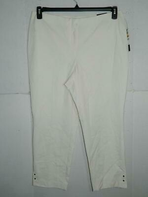 Alfani Women's Plus Cloud Comfort Waist Ankle Pants NWT Size 16W X 25 A2