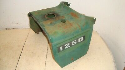 Oliver 1250 Gas Tractor Rear Hood Above Gas Tank