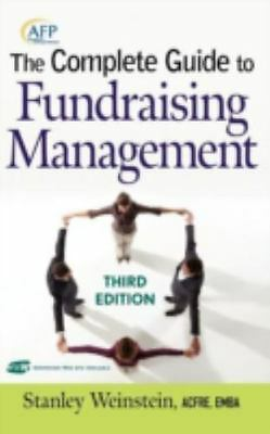 The Complete Guide to Fundraising Management by Stanley Weinstein