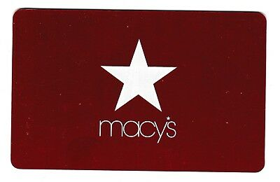 Macy's collectible gift card no value mint #49 Classics