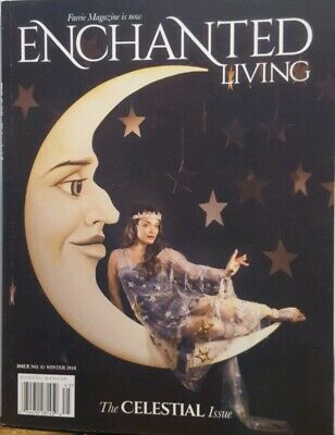 Enchanted Living Winter 2018 The Celestial Issue Faerie  FREE SHIPPING CB