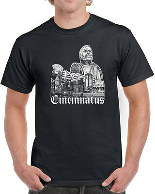 306 Cincinnatus mens T-shirt cincinnati pride ohio cincy nati cool vintage retro