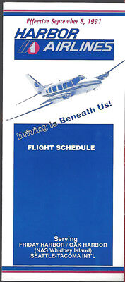 Aloha Airlines system timetable 4//3//88 8051 Buy 2 Get 1 Free