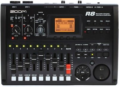 Zoom R8 2-Track Digital Recorder/USB Interface with 8-track Playback -NEW!