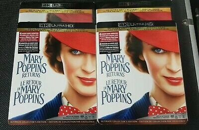 Mary Poppins returns 4K Ultra HD + Blu-ray + digital