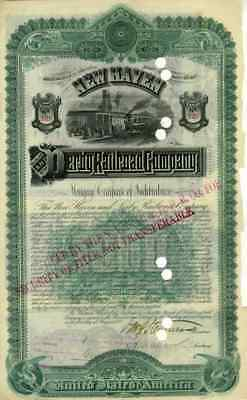 1888 New Haven & Derby RR bond Certificate