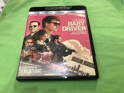 2017 Baby Driver 4K Ultra HD ONLY No Blu-ray No Digital HD Code