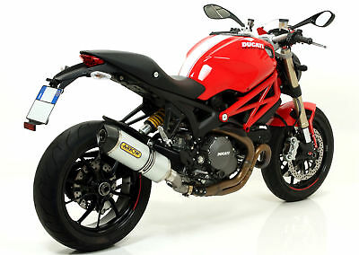 Terminal Aluminium Genehmigt ARROW Ducati Monster 1100 Evo 2011-2013