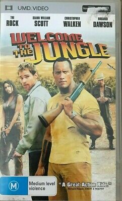 WELCOME TO THE JUNGLE UMD. VIDEO for Sony PSP