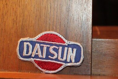 Vintage 1960-70's  Datsun  Embroidered Racing Patch 3""