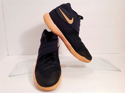 f8682a7ff457 NIKE KYRIE 2 GS Mid Navy University Gold 826673-447 Size 6.5 Y New ...