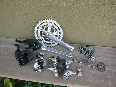 VINTAGE SHIMANO DEORE LX M550 Groupset 3x7 Speed