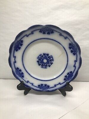 Antique Flow Blue Lorne Pattern Grindley England Plate