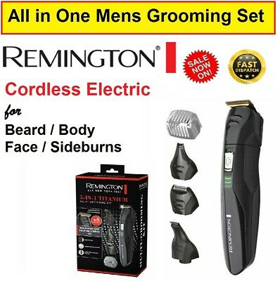 REMINGTON Beard Shaver Trimmer Cordless Electric Mens Grooming Hair Clipper NEW