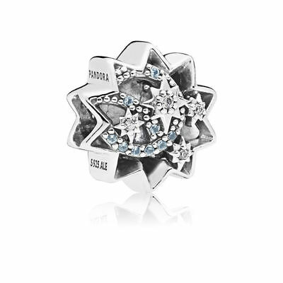 Authentic Pandora  Disney When You Wish Upon A Star Charm, Light Blue 797490NBL