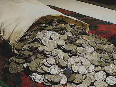 Buffalo Nickel Set Includes Key 1926-S__40 Different Dates & Mints__Rare Roll