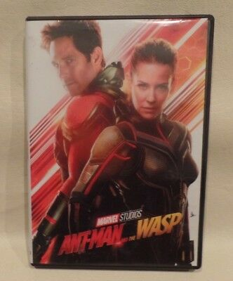 ANT-MAN AND THE WASP, DVD, CASE, ARTWORK, g
