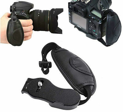 PU Leather DSLR Camera Hand Grip Wrist Strap for Canon Nikon Sony Pentax Olympus