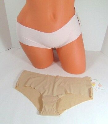 7c6cb00f7461 Women's Shimera 2 Pair Cheeky Beige Almond & Pink Delicacy Panties Size M  NWT