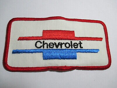 OLD NOS Genuine Chevrolet Parts Patch,Vintage Embroidered 4 x 2 7//8 INCHES