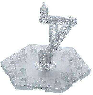 BANDAI Gundam ACTION BASE 5 Clear 1/144 Scale Display Stand New from Japan