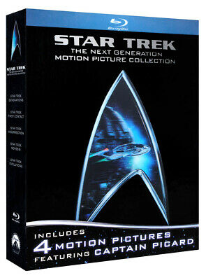 Star Trek - The Next Generation Motion Picture Collection (Boxset) (Bl (Blu-Ray)