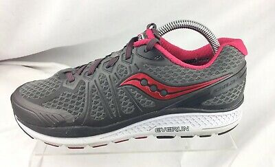 65e43b3733 SAUCONY WOMENS STRETCH & Go Breeze Grey Running Shoes Size 6 (204684 ...