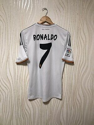 save off 7d20c a715d REAL MADRID 2013 2013 Home Football Soccer Shirt Jersey Adidas Ronaldo #7