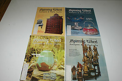 Spinning Wheel Magazine Antiques Lot of 4 1976 L#349