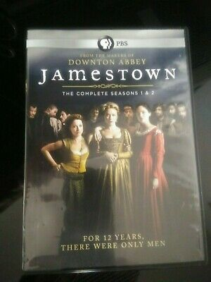 Jamestown Series by makers of Downton Abbey DVD set - Season 1 & 2
