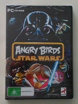 ANGRY BIRDS: STAR WARS PC CD-Rom Game