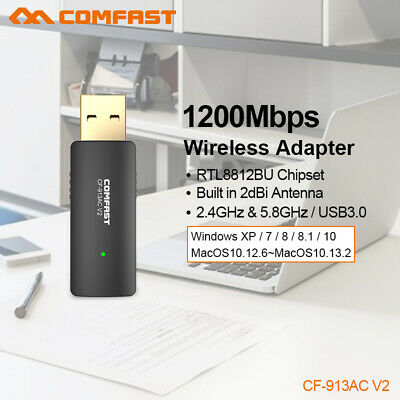 600Mbps Dual Band 5GHz Wireless Wifi Adapter 802.11 AC Antenna rete Dongle