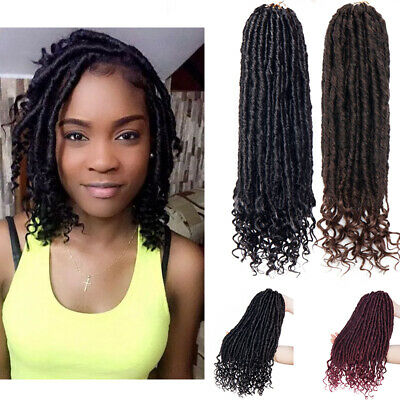 Us Natural Goddess Faux Locs Real Crochet Braids Kanekalon