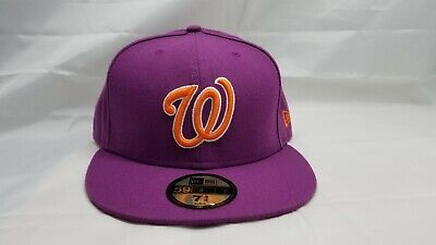 New Era 59Fifty Fitted Hat.  Mlb.  Washington Nationals.