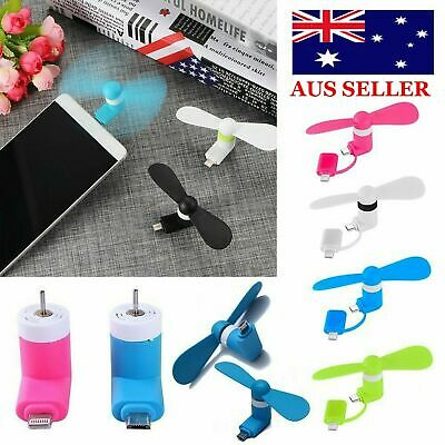 SUPER Branded USB mini fan for All Phone & fan android with multi plug AUS SLR 1