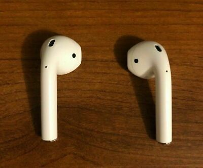 USED Original Authentic Apple AirPods White MMEF2AM/A Genuine Airpod
