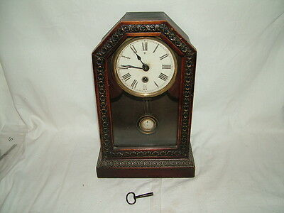 working old vintage mantel clock